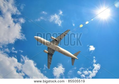 Plane Is Flying