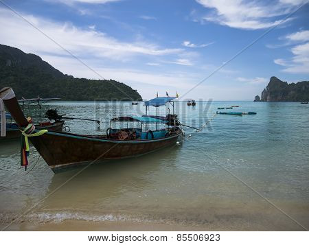 Boat of Koh Phi Phi Don