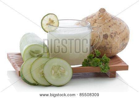 Cucumber And Yam Smoothie