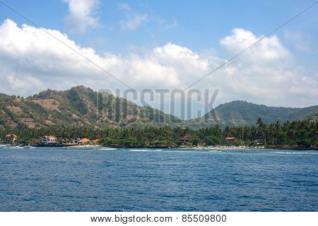 Bali seashore