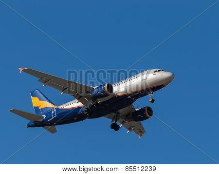 Airbus A319 Passenger Plane