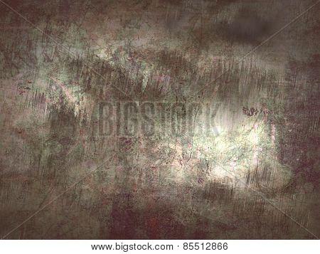 Grunge Silver Metal Texture