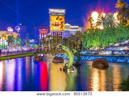 Las Vegas , Volcano