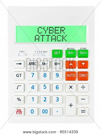 Calculator With Cyber Attack