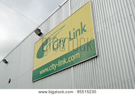 City Link sign, Basingstoke Depot