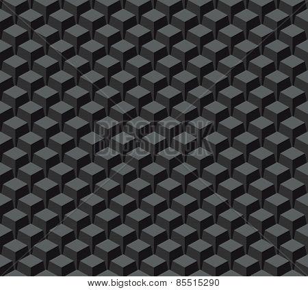 Seamless pattern. Black vector background