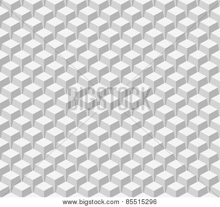 Seamless pattern. White vector background
