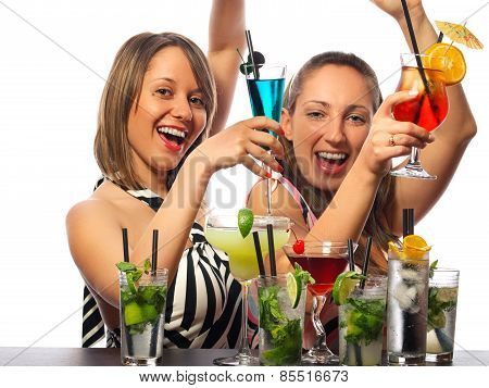 Girls With A Lot Of Cocktails