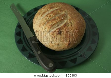 Seven-Grain Bread, Baked Loaf