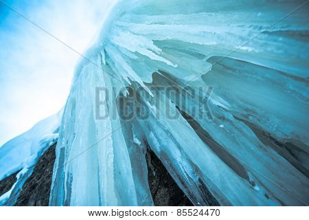 Blue Mountain Icicles