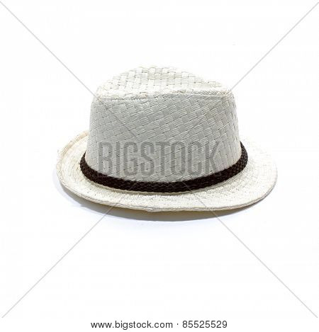 panama white straw hat