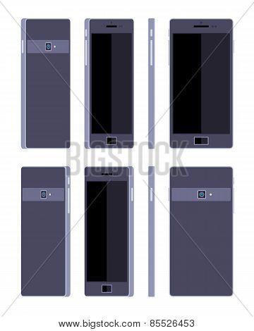 Generic black smartphone