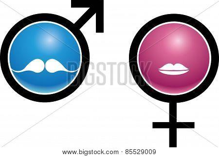 Bathroom logo