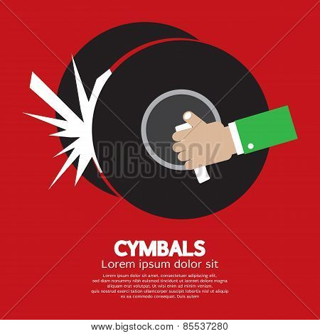 Cymbals Music Instrument.