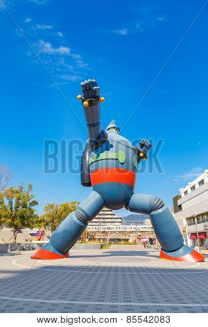 Gigantor Robot in Kobe, Japan