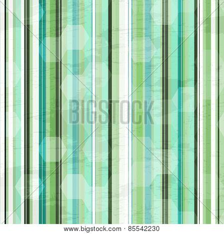 Vintage Green Line Semless