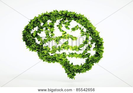 Eco Nature Intelligence Concept