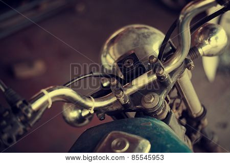 Old Vintage Motorcycle
