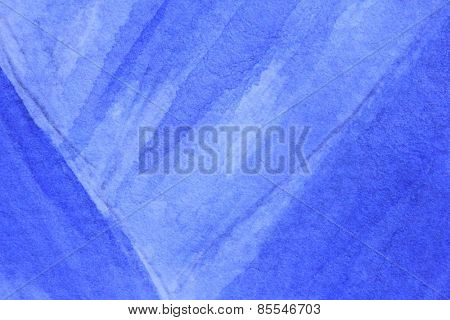 Cobalt Blue Hue Watercolor Background 11