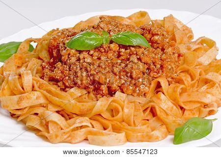 Pasta Tagliatelle Bolognese