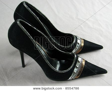 Pair of Womens Stiletto heel shoes