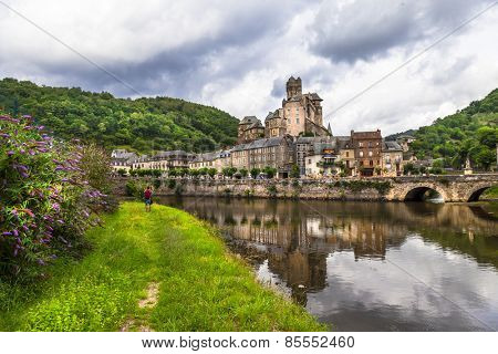 Estaing- one of the most beautiful villages of France (Aveyron)