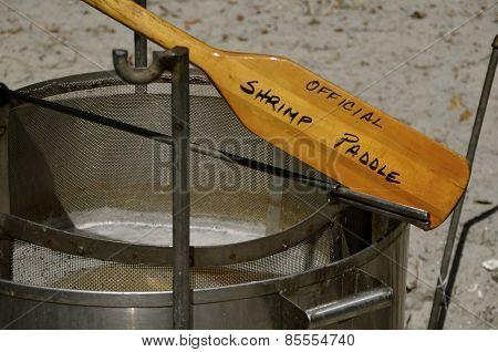 Official shrimp paddle