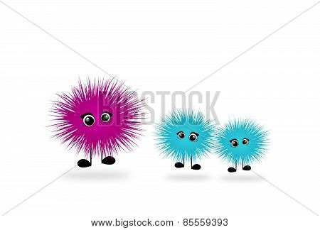 Hairy Monsters
