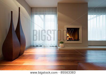 Designed Decoration In Living Room