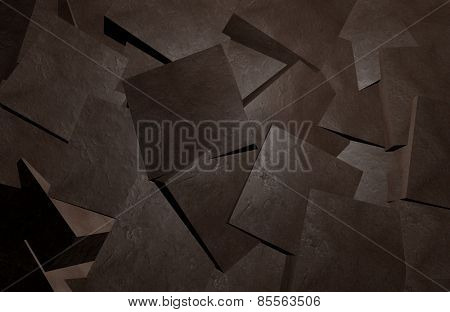 Coal blocks abstract background