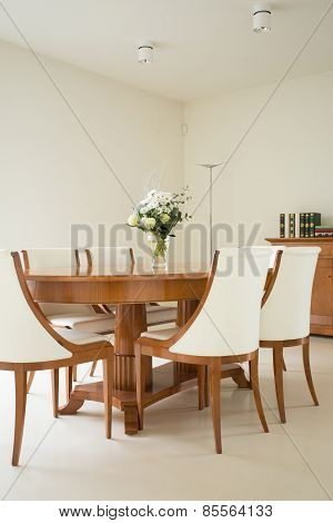 Dining Room In Traditional Style