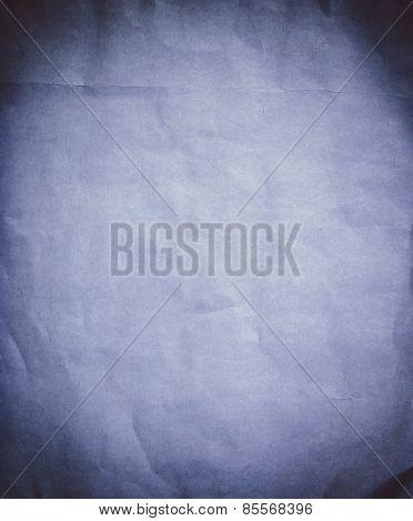 Blue Grunge Vintage Old Paper Background