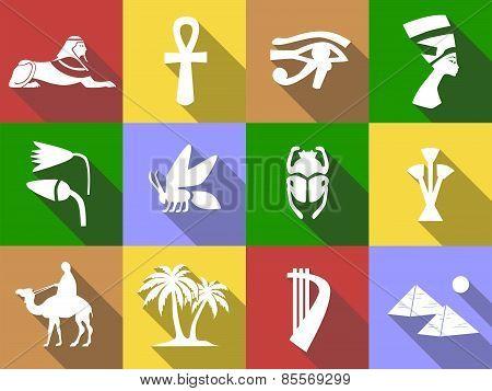 Egypt-icons