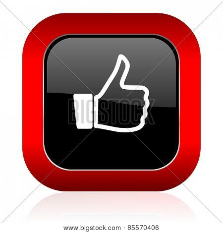 icon thumb up sign