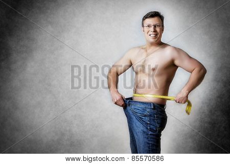 Man With Measuring Tape
