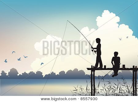 Cena de pesca