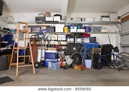 Garage Durcheinander