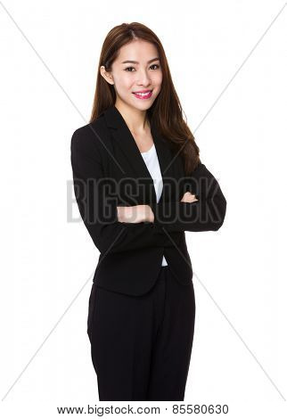 Asian business executive