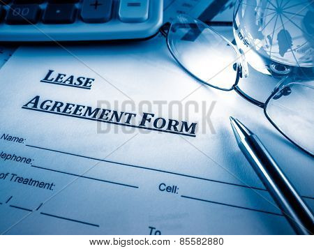 lease agreement form