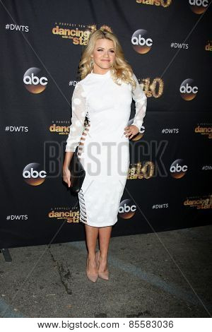 LOS ANGELES - MAR 16:  Witney Carson at the