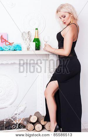 Portreit of sexy woman