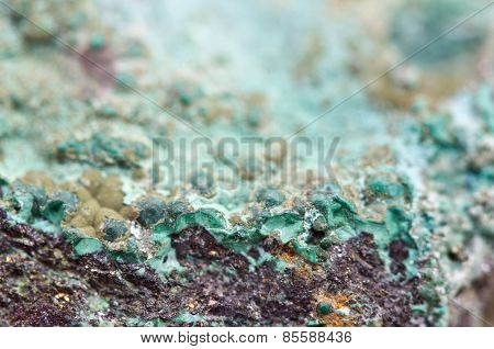 Malachite Is A Copper Carbonate Hydroxide Mineral