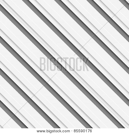 Geometrical Pattern With White Beveled Diagonal  Lines