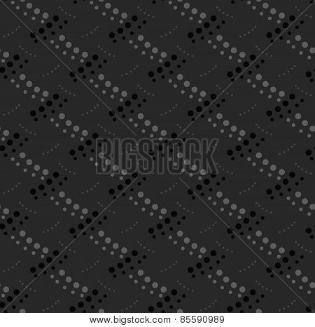 Monochrome Pattern With Gray And Black Dotted Interwoven Texture