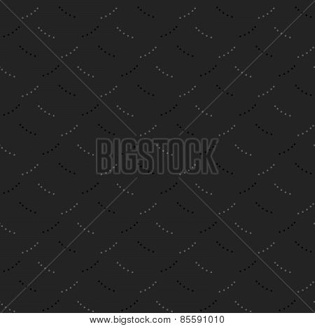 Monochrome Pattern With Gray And Black Dotted Short Lines