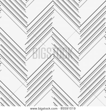 Monochrome Pattern With Gray And Dark Gray Chevron Lines