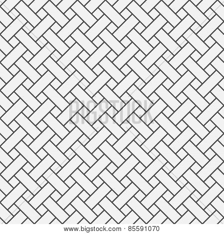 Monochrome Pattern With Gray Simple Lattice