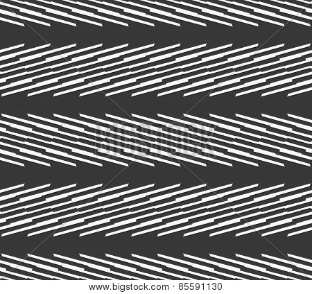 Monochrome Pattern With Light Gray Diagonal Blade Shapes