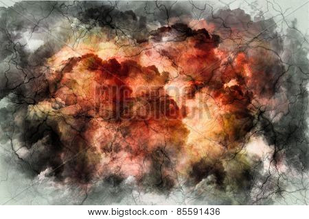 Marble stone background texture. Abstract mottled grunge background texture