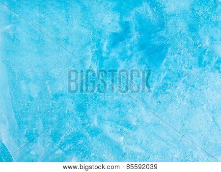 Winter Blue Ice Texture